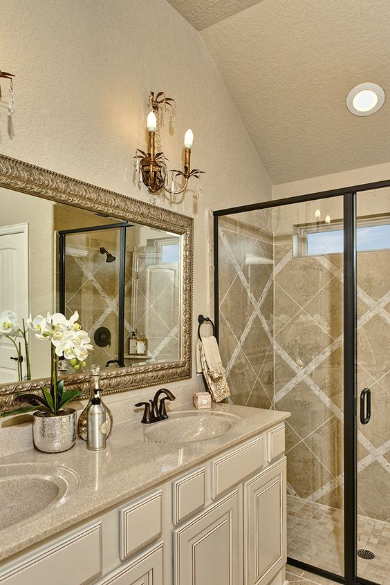 bathroom gallery gold mirrors and mirror tiles on pinterest