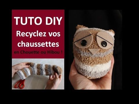 tuto diy recyclez vos chaussettes en chouette ou hibou c cile cloarec passe temps. Black Bedroom Furniture Sets. Home Design Ideas