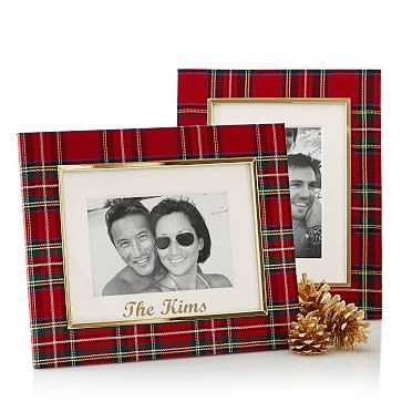 Preppy Plaid Photo Frame #makeyourmark:
