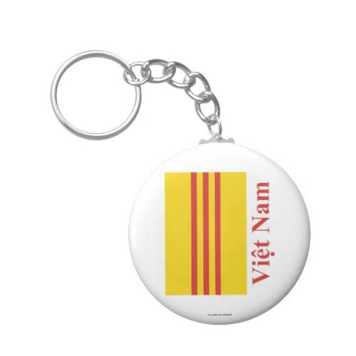 Keychain South Vietnam Keychain South Vietnam Flag