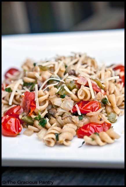 Clean Eating Chicken Vegetable Pasta