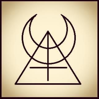 The official sigil for Madelina Horn + her Temple of the Left Horn