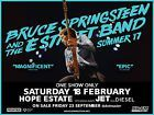 #Ticket  Bruce Springsteen  Hope Estate  A RESERVE SEATING  18 Feb 2017 #Australia