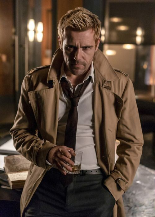Matt Ryan As Hellblazer In 2020 Dc Legends Of Tomorrow Matt Ryan Constantine John Constantine