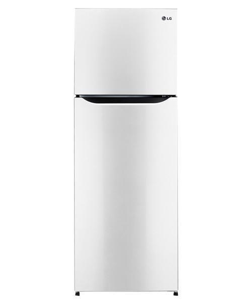 ثلاجة ال جى أبيض Top Freezer Refrigerator Kitchen Appliances Trash Can