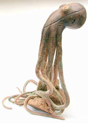 Wooden Octopus
