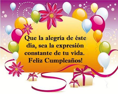 frases cortas de feliz cumpleaños amiga jpg (500 u00d7400) mis preferidos Pinterest