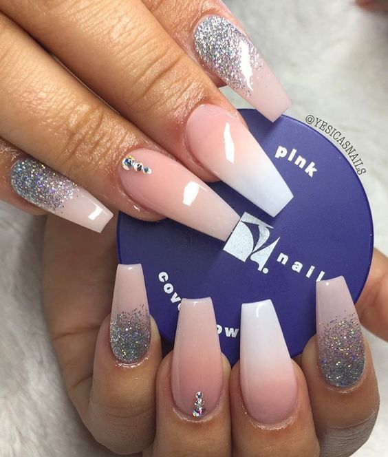 45 Acrylic Coffin Nail Color Designs For Fall And Winter Nails Coffin Shape Nails Colorful Nail Designs Luxury Nails