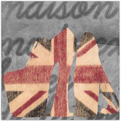 """""""Nouvelle Maison en Angleterre"""" - Giclee Art Print"""