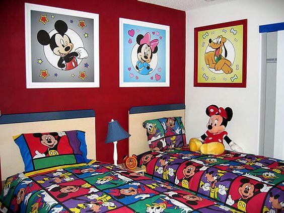 Decoraci n de cuartos de mickey mouse especialmente este for Diseno de cuartos pequenos para ninos