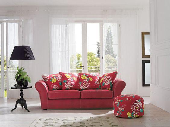 Divani Classici   Divano Provenzale Tessuto A Fiori | Classic Living Room |  Pinterest | Living Rooms And Room Home Design Ideas