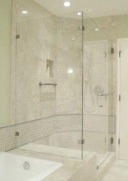 Frameless ShowerGuard Enclosure - traditional - showers ...