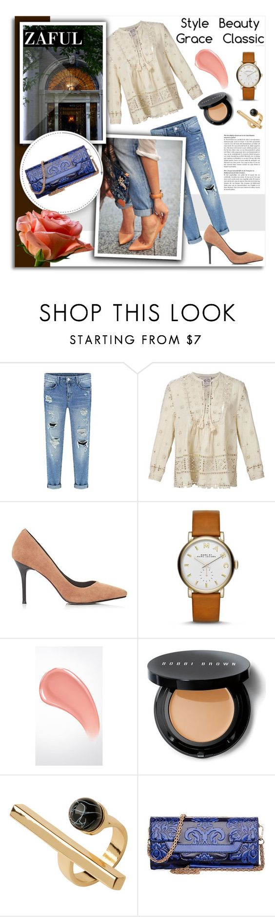 """""""11. www.zaful.com/?lkid=9900"""" by melissa-de-souza ❤ liked on Polyvore featuring Sea, New York, Marc Jacobs, Burberry, Bobbi Brown Cosmetics and Monki"""