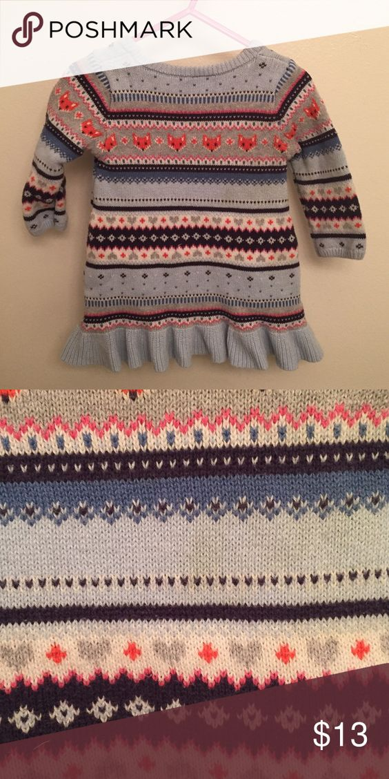 Sweater Small stain on the front but not very noticeable. 12-18m Gymboree Shirts & Tops Sweaters