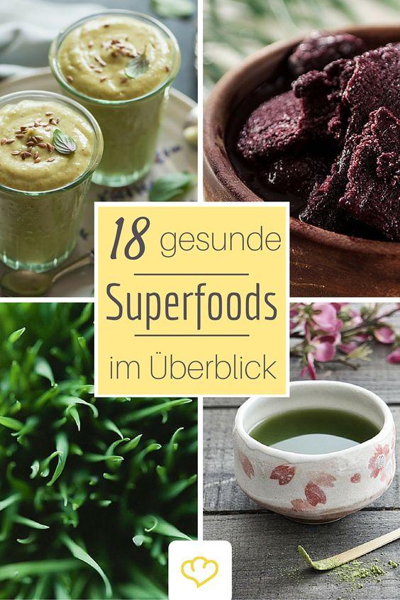 Wir haben die 18 beliebtesten Superfoods genauer unter die Lupe genommen: haben Leinsamen, Acai-Beere, Matcha, Weizengras & Co wirklich Superkräfte?