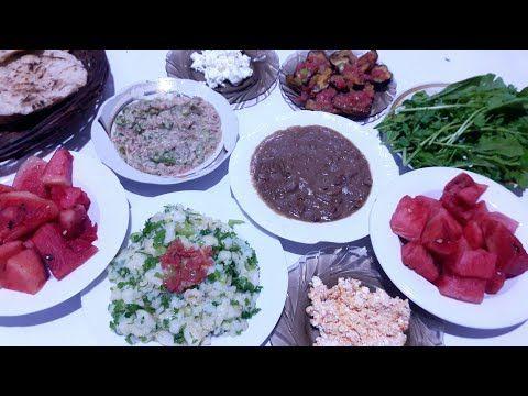 سحور تاني يوم رمضان واسمعوا حكاياتنا عن رمضان ايام زمان Youtube Food Breakfast