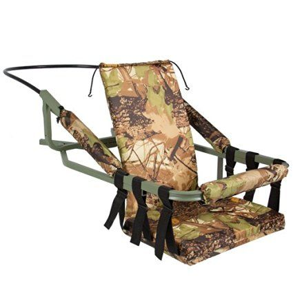 Amazon.com : Best Choice Products Hunting Deer Bow Game Hunt Portable Tree Stand Climber with Harness : Self Climbing Tree Stand : Sports & Outdoors