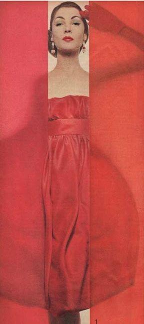 #1- Erwin Blumenfeld (1897-1969), 1958, Vogue US.