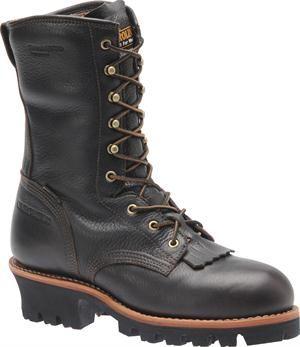 "Men's Carolina 10"" Composite Toe Insulated Logger - Dark Brown"