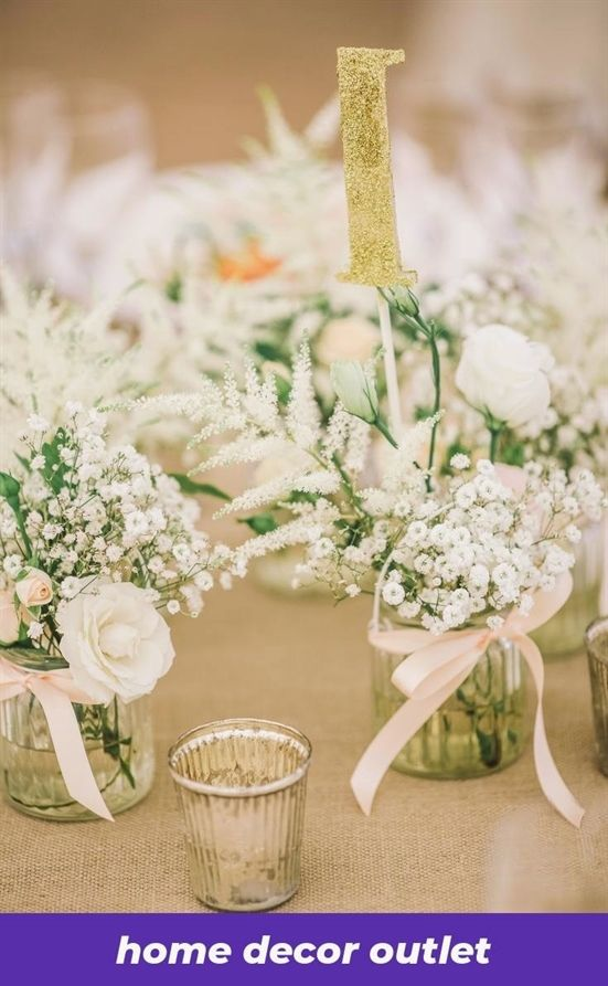 Different Ways To Improve Aspects Of Your Home Wedding Table Table Decorations Wedding Centerpieces