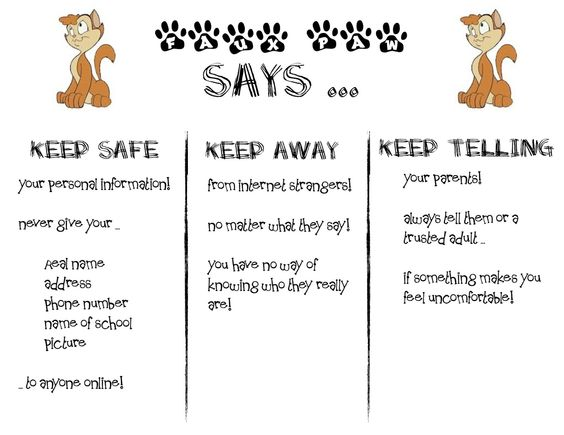 It's lions and tigers and ... technology! Oh my!: Internet Safety