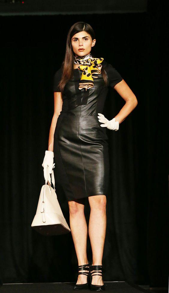 Black Leather   Clery's   Dublin Fashion Festival 2013