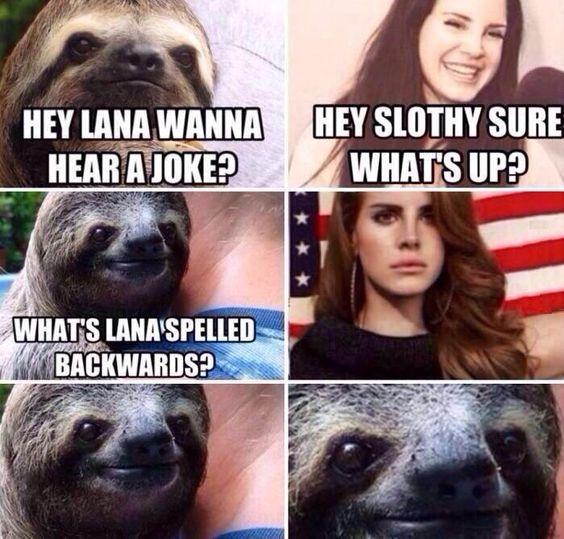 Oh lana lol