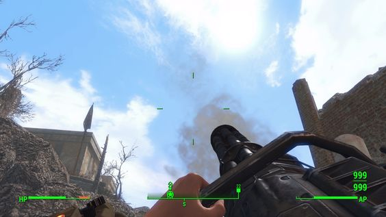 I equipped the veribirds mini-gun. Any fixes? #Fallout4 #gaming #Fallout #Bethesda #games #PS4share #PS4 #FO4