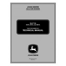 John Deere 647A 657A 667A Quik-Trak Technical Manual TM-2310 PDF