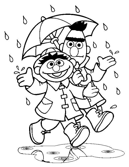 sesame street halloween coloring pages - coloring pages bert ernie and sesame streets on pinterest