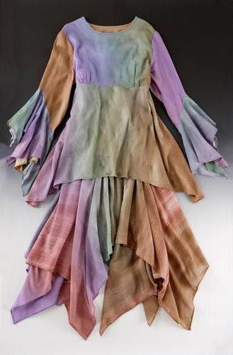 James and Deborah Greene - scarf skirt
