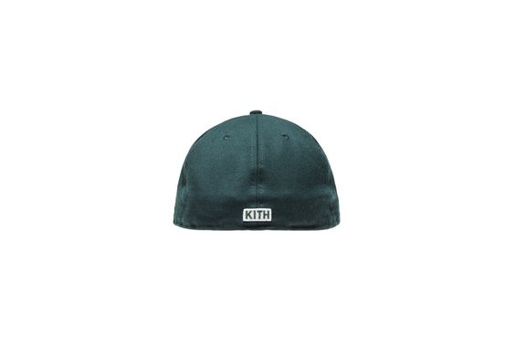 Kith X New Era Fitted Cap Green New Era Fitted Fitted Caps New Era