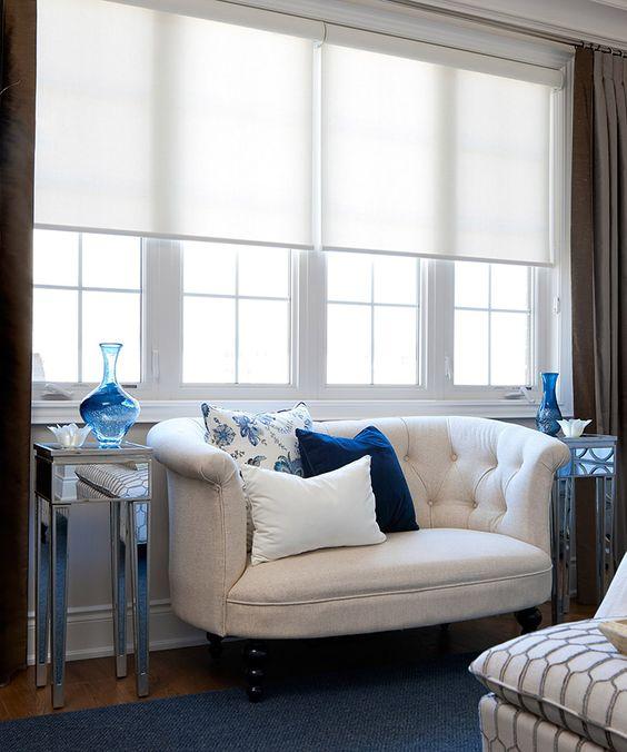 jane lockhart bedroom seating love the royal blue velvet pillow