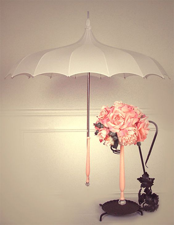 charming... rainy days could be glamorous too!