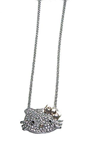 Hello Kitty Girls Jewelry ~ Hello Kitty with Goldtone Bow Necklace (lk90) - http://www.jewelryfashionlife.com/hello-kitty-girls-jewelry-hello-kitty-with-goldtone-bow-necklace-lk90/