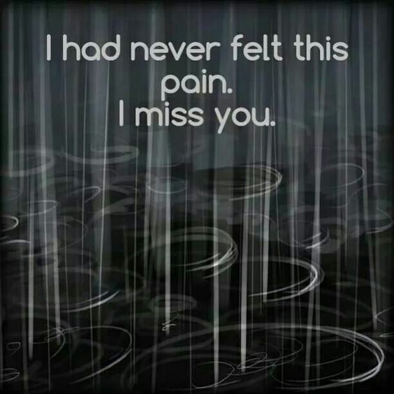Miss you.