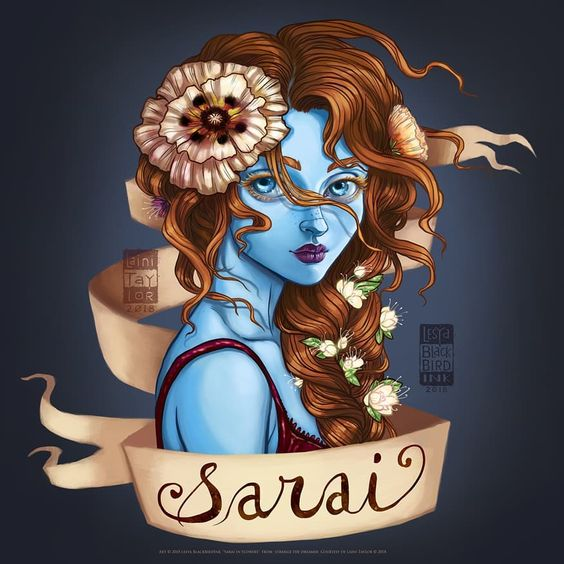 Sarai from Strange the Dreamer by Laini Taylor. #fanart #sarai #strangethedreamer #lainitaylor #digitalart