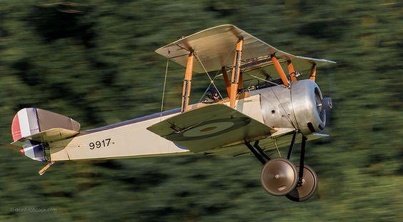 Sopwith Pup #biplane #WW1