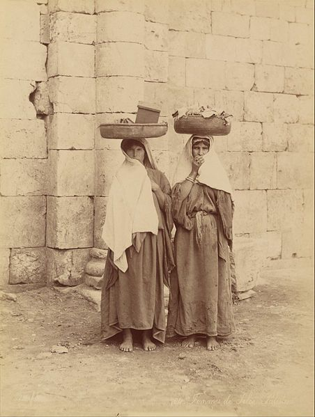 Félix Bonfils - Femmes de Siloé, Palestine