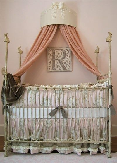 This gorgeous letter plaque from @Marie Ricci Collection, Inc. is suitable for any parent's sophisticated or playful style.: Playful Style, Babiesss, Parents, Color, Ceiling, Baby Room