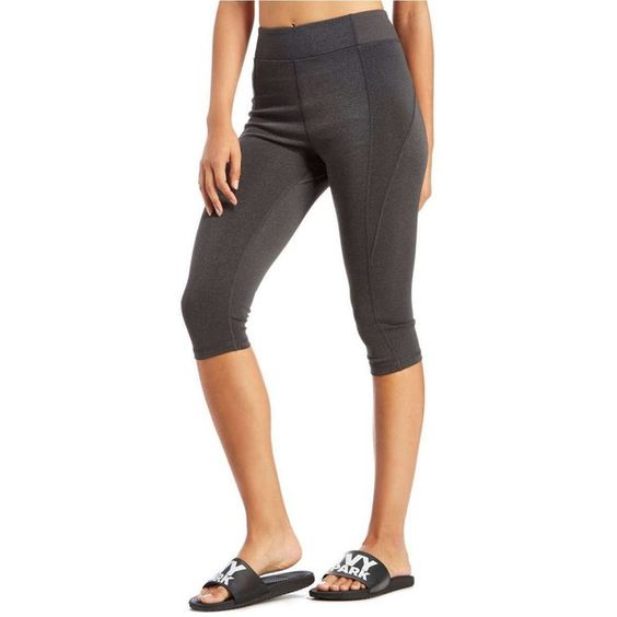 IVY PARK High Rise Capris ($51) ❤ liked on Polyvore featuring activewear and activewear pants