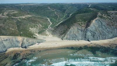 A Terceira Dimensão - Fotografia Aérea: Praia da Barriga