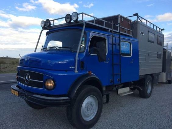 Used RV For Sale in Pueblo, Colorado: 1978 Mercedes Benz 911L Off Road Toterhome - GreatVehicles.com Classified Ads