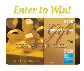 So Easy! Enter to win a $100 American Express Gift Card!