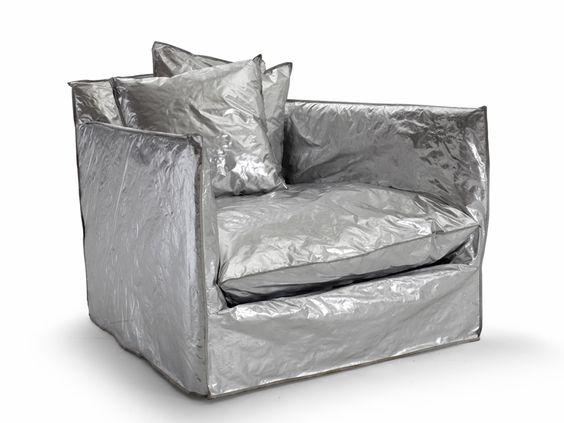 paola navone: nuvola - futuristic cloud chair for gervasoni