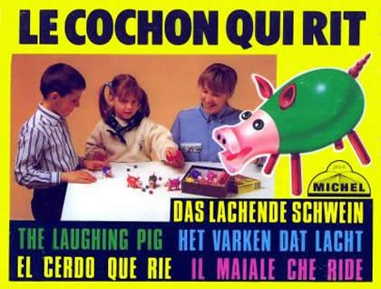le cochon qui rit eighties toys pinterest fun and vintage. Black Bedroom Furniture Sets. Home Design Ideas