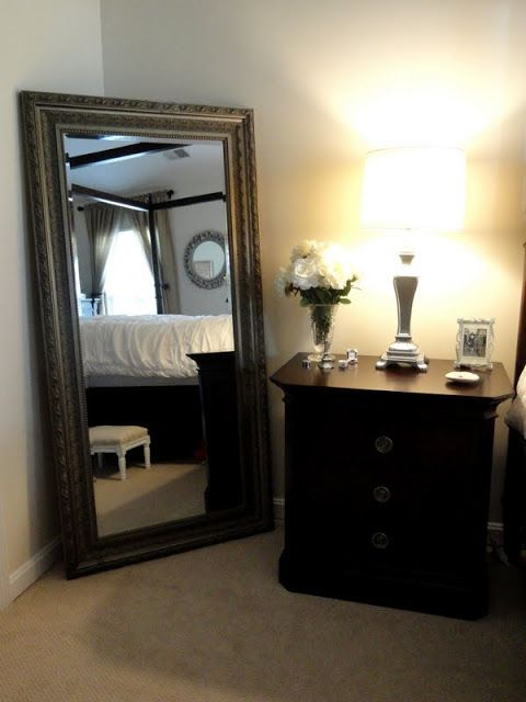 Full length mirrors mirror and bedrooms on pinterest for Full length wall mirrors for bedroom