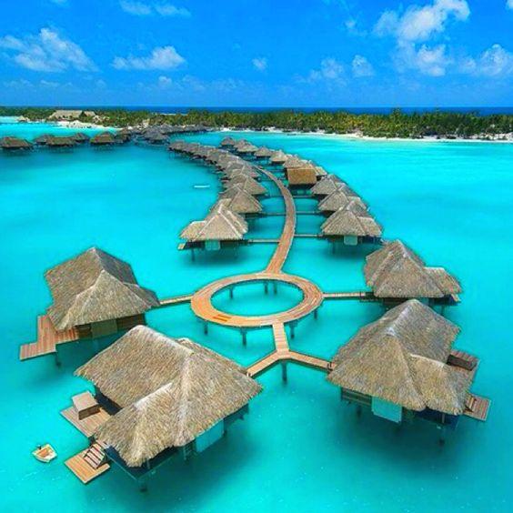 """Eden Resort Suites: Eden... (from The Movie """"Couples Retreat)... **Bora Bora"""