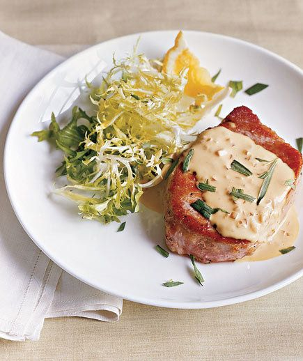 Pork Chops With Mustard Sauce | These mouth-watering recipes won't leave you hungry or bust your carb budget.