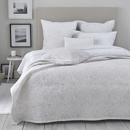 Avignon Bed Linen Collection - Soft Grey